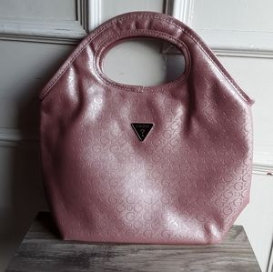 NWOT Guess Light Pink Insulated Lunch Bag